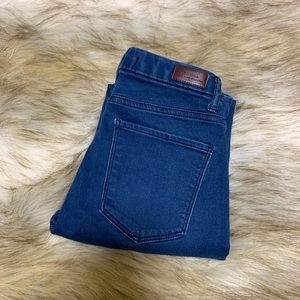 Bershka cropped denim jeans